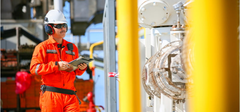 Operator monitor production process