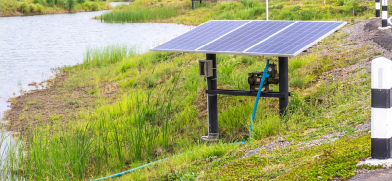 Solar water pump motor