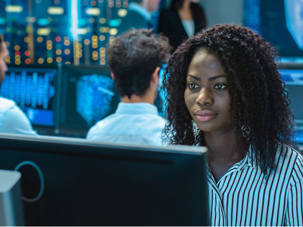 Female Computer Engineer